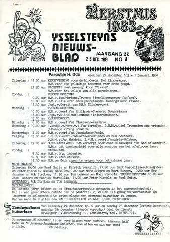 Ysselsteyns Nieuwsblad 1983-12-23