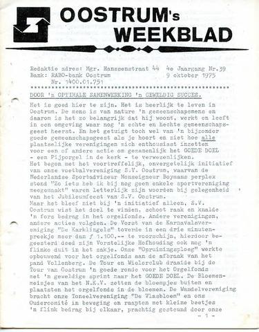 Oostrum's Weekblad 1975-10-09
