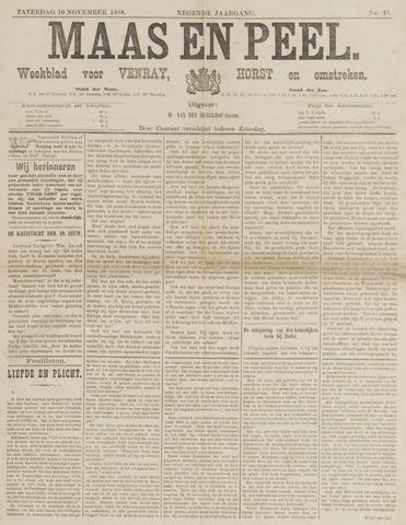 Peel en Maas 1888-11-10