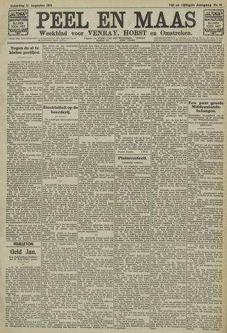 Peel en Maas 1934-08-11