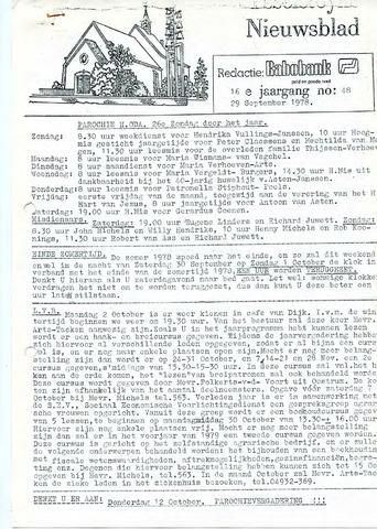 Ysselsteyns Nieuwsblad 1978-09-29