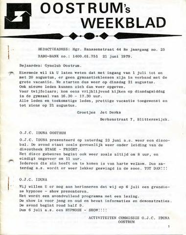 Oostrum's Weekblad 1979-06-21