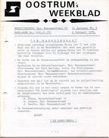 Oostrum's Weekblad 1978-02-02