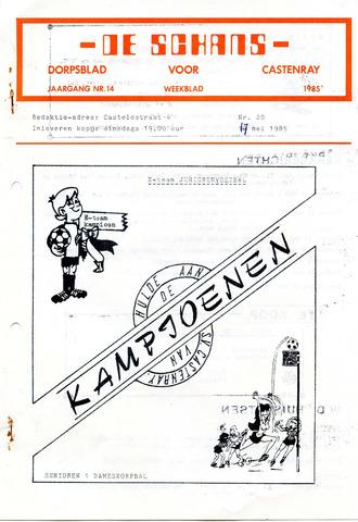 Castenrays dorpsblad De Schans 1985-05-17