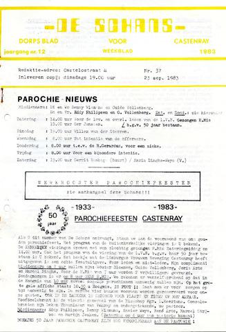 Castenrays dorpsblad De Schans 1983-09-23