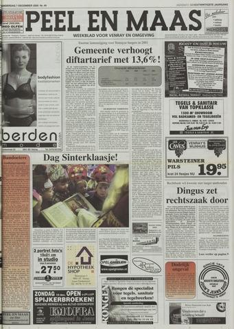 Peel en Maas 2000-12-07