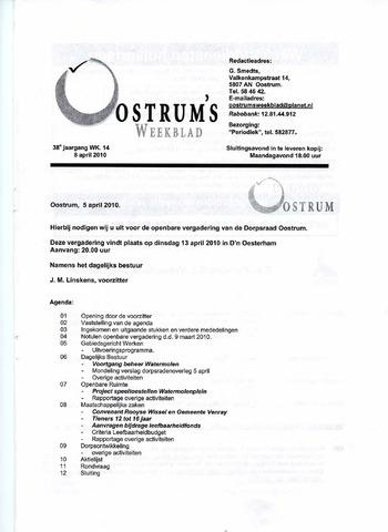 Oostrum's Weekblad 2010-04-08