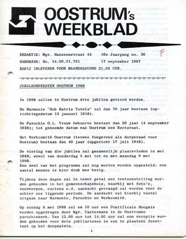 Oostrum's Weekblad 1987-09-17