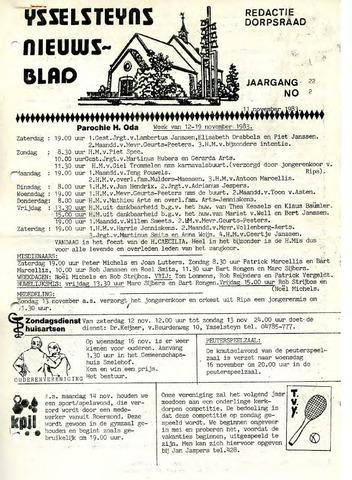 Ysselsteyns Nieuwsblad 1983-11-11