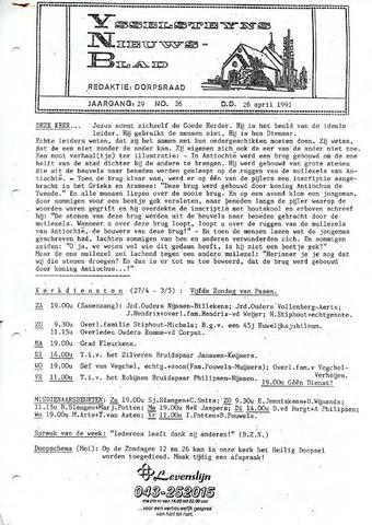 Ysselsteyns Nieuwsblad 1991-04-26