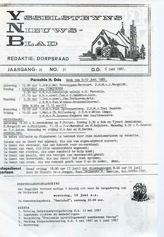Ysselsteyns Nieuwsblad 1987-06-05
