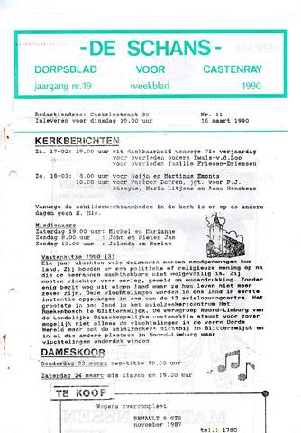 Castenrays dorpsblad De Schans 1990-03-16