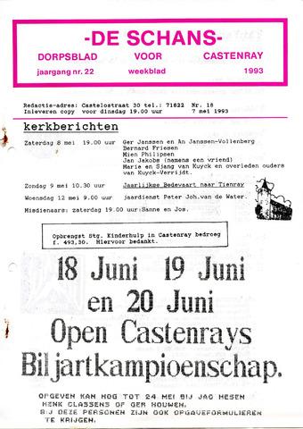 Castenrays dorpsblad De Schans 1993-05-07