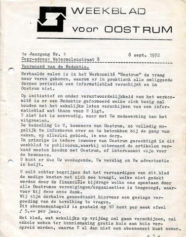 Oostrum's Weekblad 1972