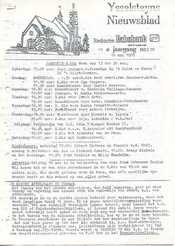 Ysselsteyns Nieuwsblad 1979-05-11