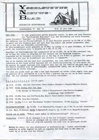 Ysselsteyns Nieuwsblad 1989-06-16