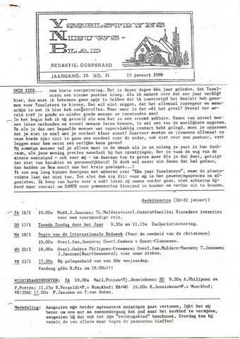 Ysselsteyns Nieuwsblad 1988-01-15