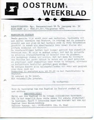 Oostrum's Weekblad 1979-08-17