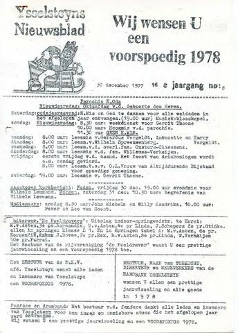 Ysselsteyns Nieuwsblad 1977-12-30