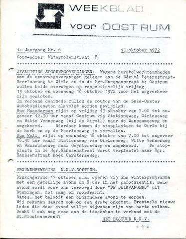 Oostrum's Weekblad 1972-10-13