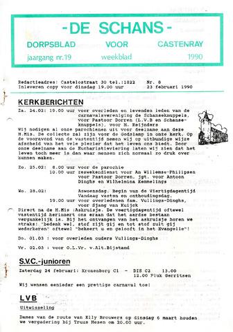 Castenrays dorpsblad De Schans 1990-02-23