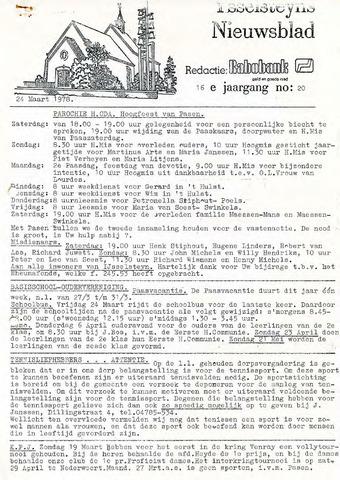 Ysselsteyns Nieuwsblad 1978-03-24