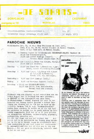 Castenrays dorpsblad De Schans 1983-09-30