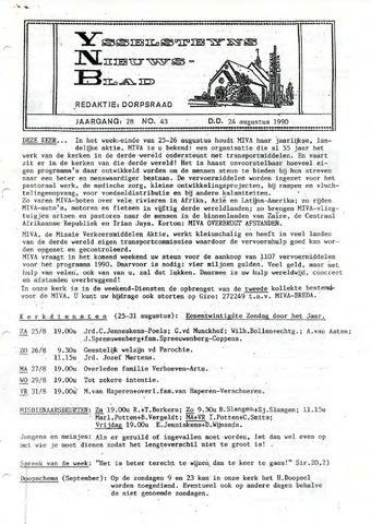 Ysselsteyns Nieuwsblad 1990-08-24