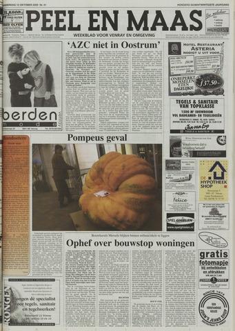 Peel en Maas 2000-10-12