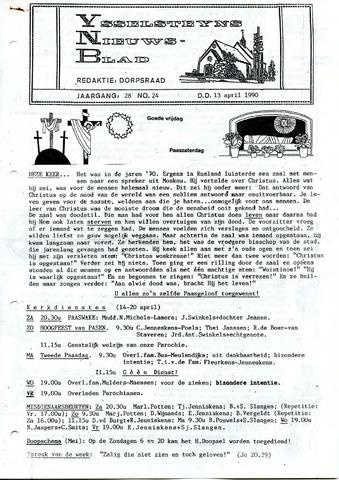 Ysselsteyns Nieuwsblad 1990-04-13