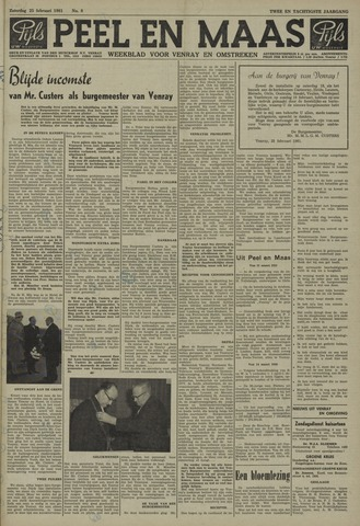 Peel en Maas 1961-02-25