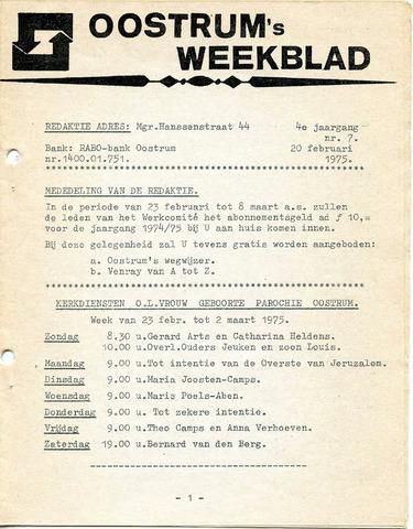 Oostrum's Weekblad 1975-02-20