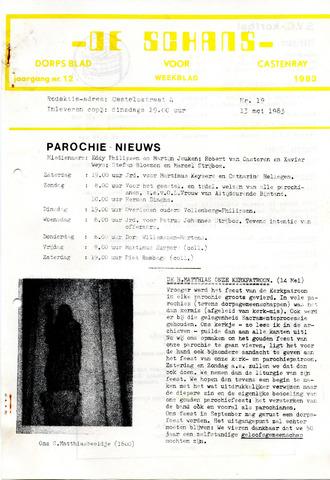 Castenrays dorpsblad De Schans 1983-05-13