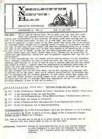 Ysselsteyns Nieuwsblad 1991-07-12