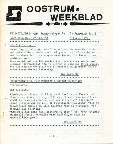 Oostrum's Weekblad 1977-02-03