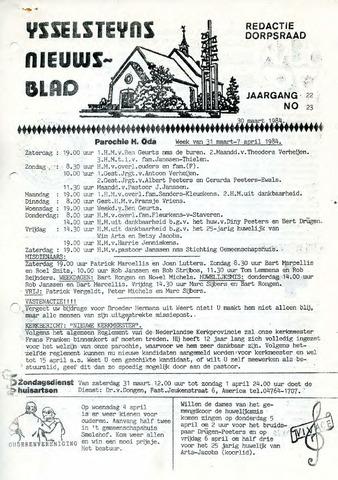 Ysselsteyns Nieuwsblad 1984-03-30