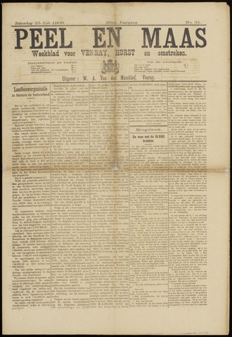 Peel en Maas 1908-07-25