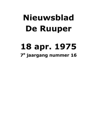 Dorpsblad Leunen-Veulen-Heide 1975-04-18
