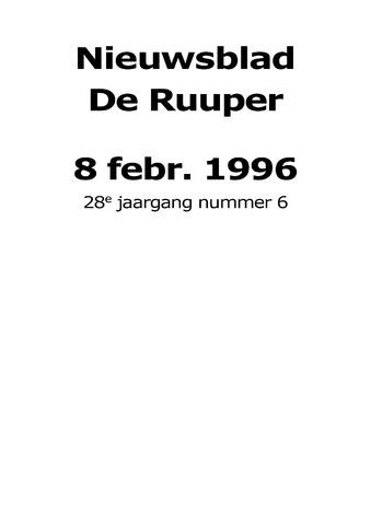 Dorpsblad Leunen-Veulen-Heide 1996-02-08