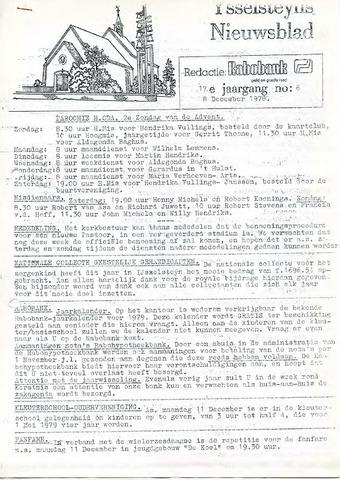 Ysselsteyns Nieuwsblad 1978-12-08