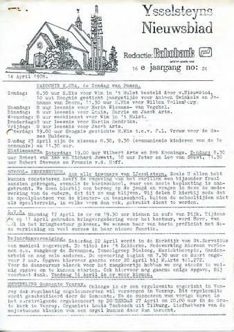 Ysselsteyns Nieuwsblad 1978-04-14