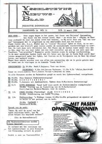 Ysselsteyns Nieuwsblad 1988-03-25