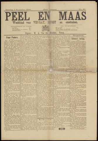 Peel en Maas 1908-11-07