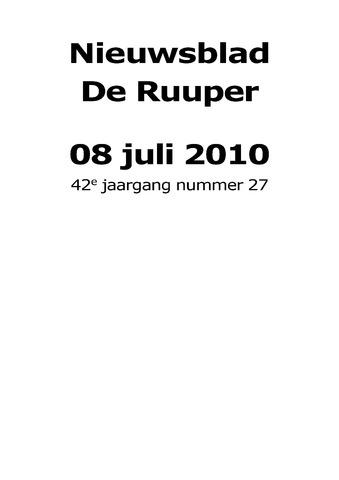 Dorpsblad Leunen-Veulen-Heide 2010-07-08