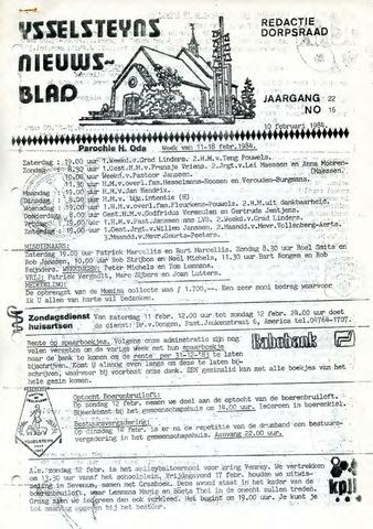 Ysselsteyns Nieuwsblad 1984-02-10