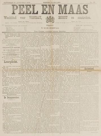 Peel en Maas 1889-08-31