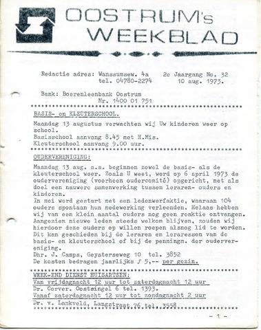 Oostrum's Weekblad 1973-08-10