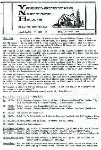 Ysselsteyns Nieuwsblad 1989-04-28
