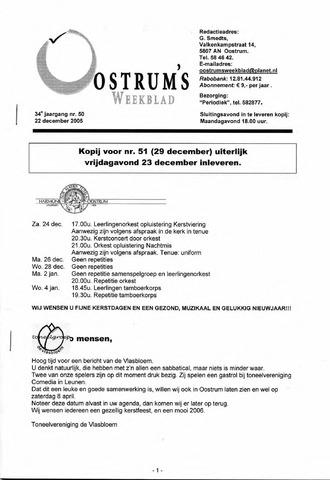 Oostrum's Weekblad 2005-12-22