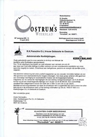 Oostrum's Weekblad 2010-04-15